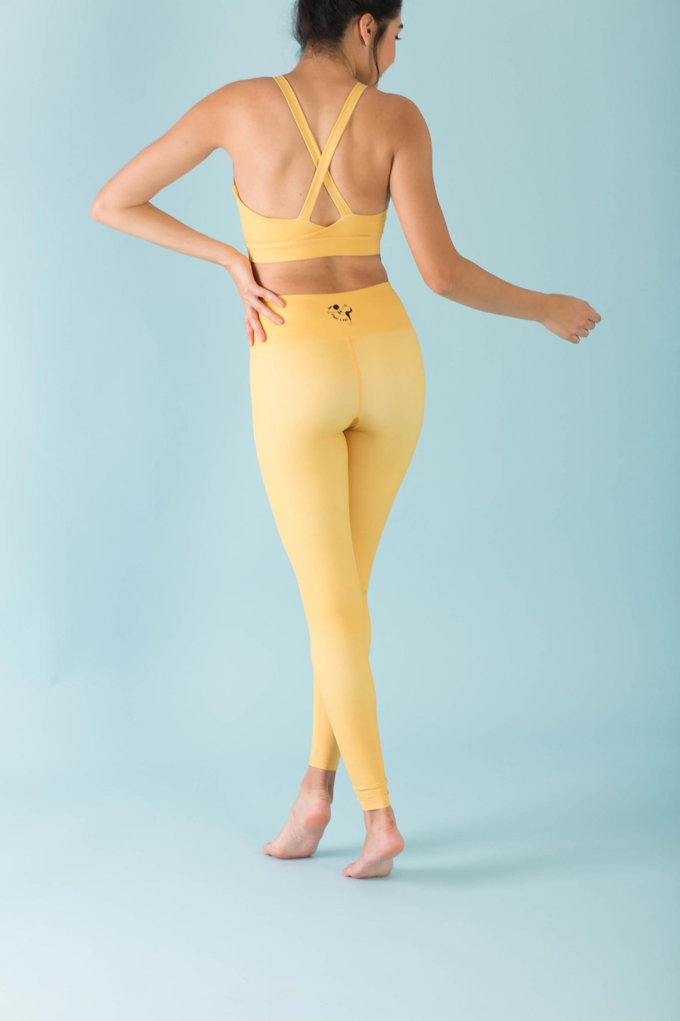 Hello Girlfriend Flexi Pants (Yellow)