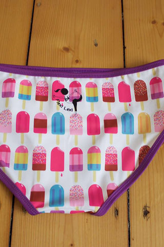 Flexi Booty Shorts - Popsicles