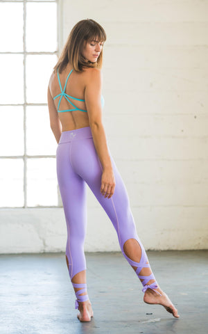 Lilac Flexi Dancer Leggings