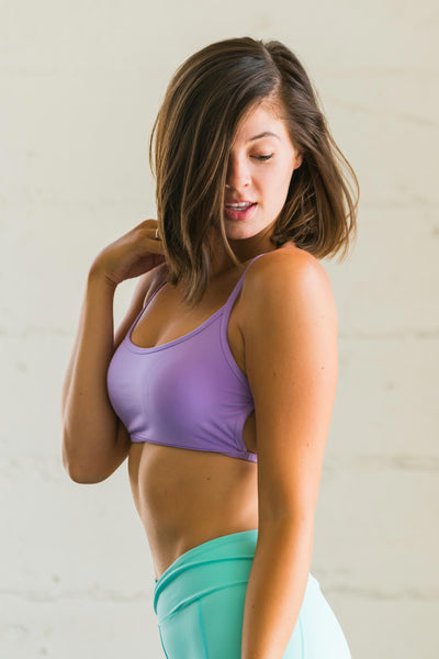Flexi Lexi Fitness Purple Stella bralette