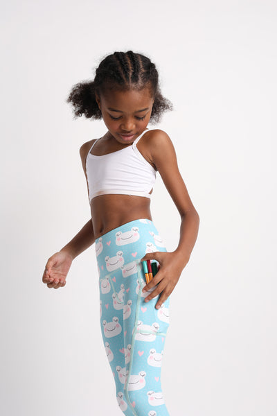 Mini Froggin' Awesome Flexi Pants