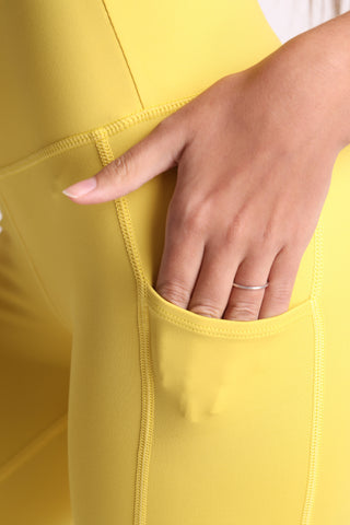 Yellow Mellow Flexi Pants