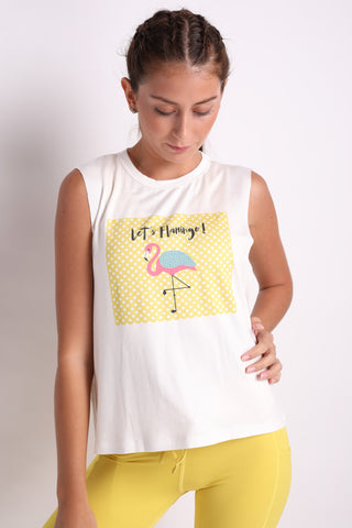 Let's Flamingo Tank Top