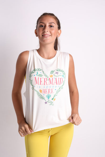 Mermaid is Spoken Tank Top