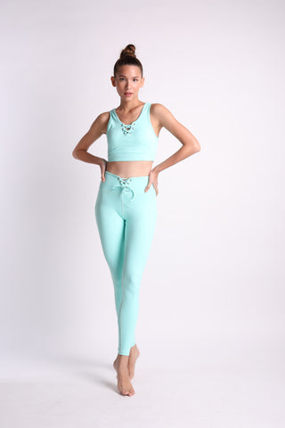 Totally Teal Flexi Crop