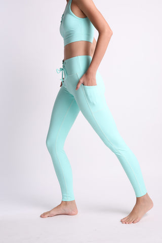 Totally Teal Flexi Pants