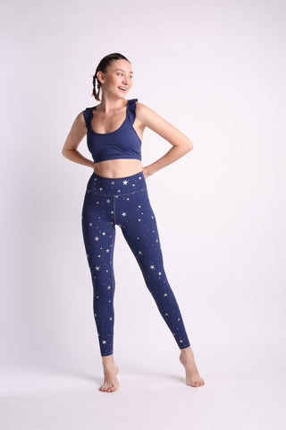 Stardust Frilly Crop