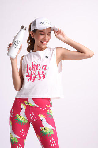 Flexi Drink More Water Thermal (White)