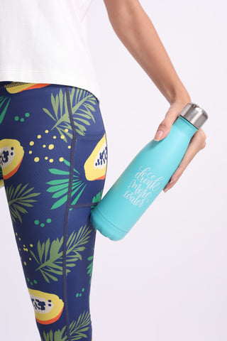 Flexi Drink More Water Thermal (Mint)