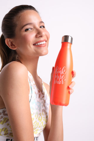 Flexi Drink More Water Thermal (Orange)