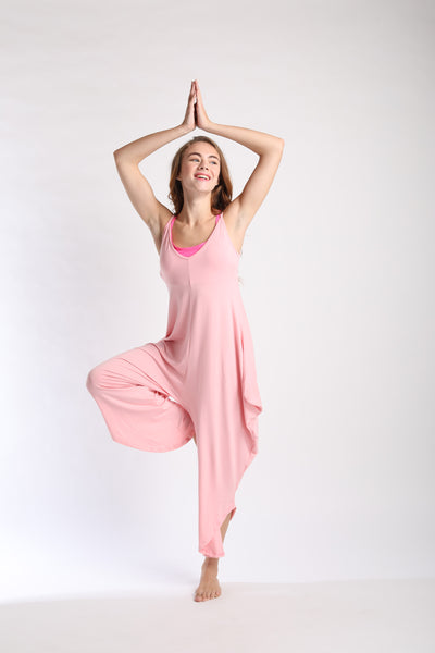 Flexi Long Romper - Pink