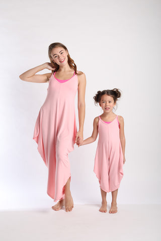 Mini Long Romper - Pink