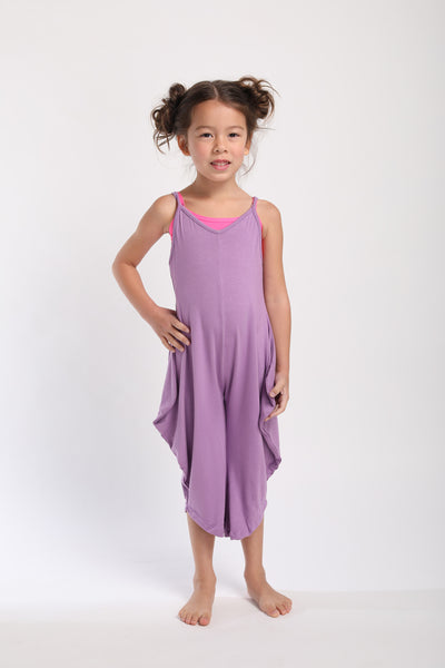 Mini Long Romper - Purple