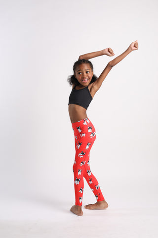 Mini Pardon My Frenchies Flexi Pants