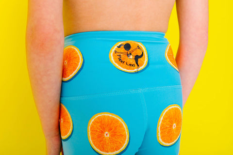 Orange of My Eyes Flexi Pants Kids and Minis