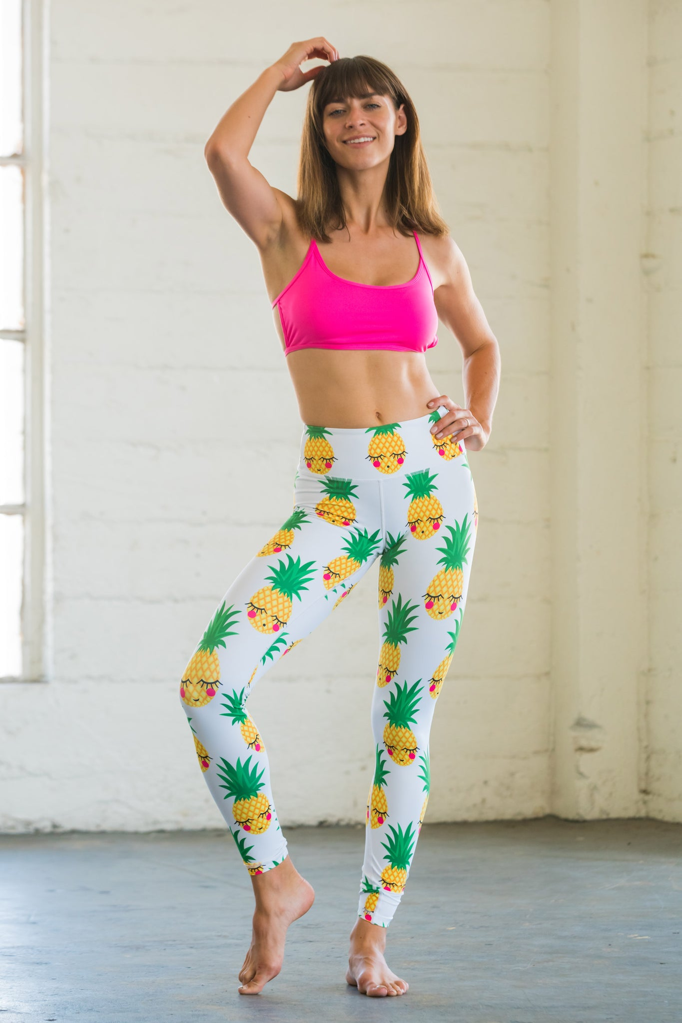 Pineapple Flexi Pants
