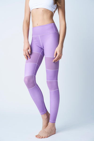 Flexi Lexi Fitness Purple Peek-A-Boo Flexi Pants