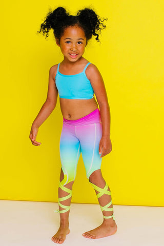 Rainbow Flexi Dancer Leggings Kids and Minis