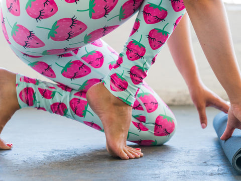 Strawberry Flexi Pants