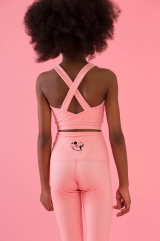 Mini Hello Girlfriend Flexi Crop (Pink)