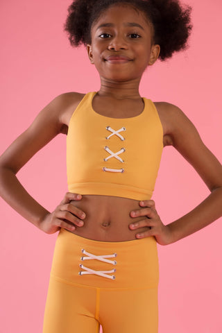 Mini Hello Girlfriend Flexi Crop (Yellow)