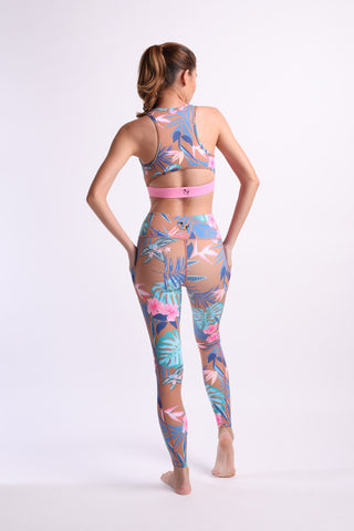 Tropical Lush Flexi Pants