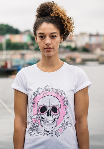 Wear Sunscreen Ladies Tee