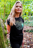 Wanderlust Ladies T-shirt - Black