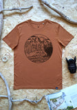 Wanderlust T-shirt - Burnt Orange