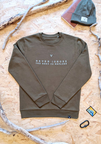 Hillside Sweat - Khaki