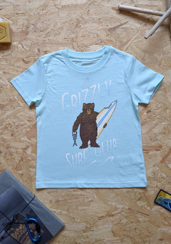 Grizzly Surf Club Kids T-shirt