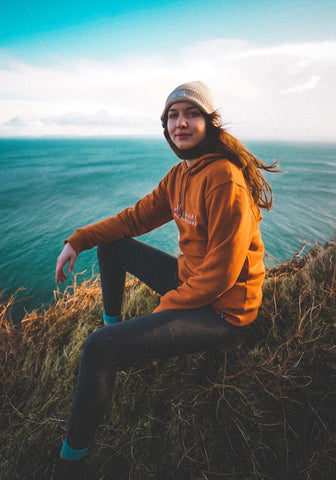 Hillside Hoody - Burnt Orange