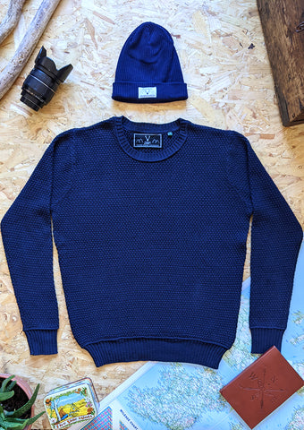 Coastal Crewneck - Navy