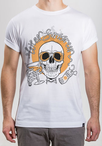 Wear Sunscreen Tee - Orange