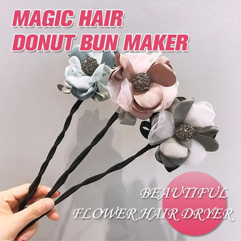 Magic Hair Donut Bun Maker