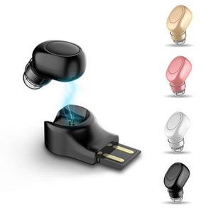 Bluetooth Headphones - Mini Bluetooth Earphone Magnetic USB Charger