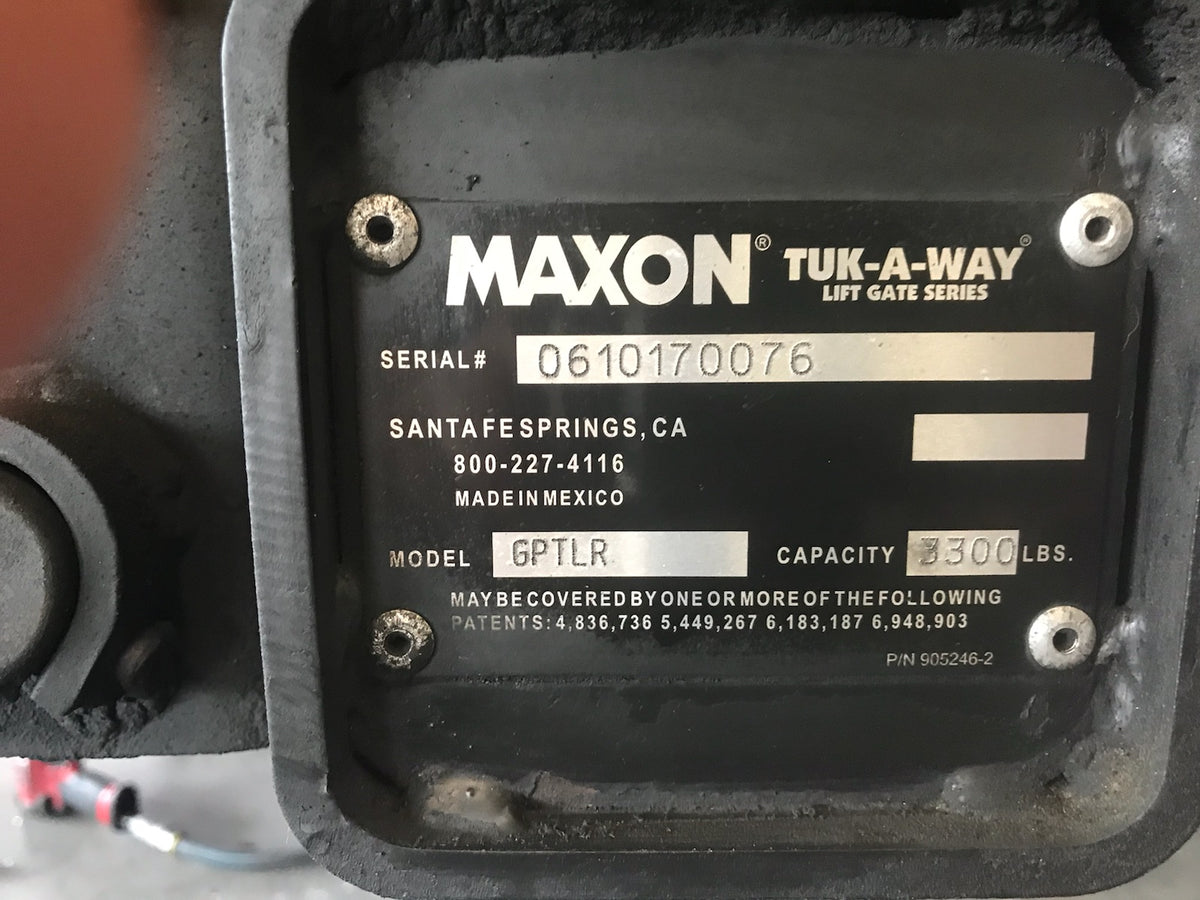 How do I find my Maxon Serial Number?