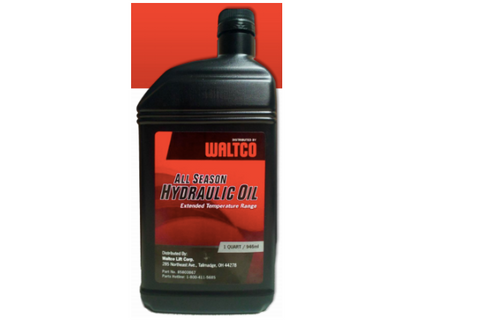 Quench the Thirst - what type of oil does your Waltco gate take?