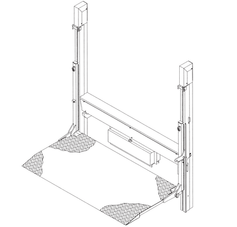 Thieman Liftgate Rail Lift Models