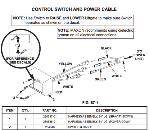 wire diagram lift gate pumps trusted wiring diagrams rh kroud co Lift Gate Power Cords Truck Lift Gate Wiring Diagrams