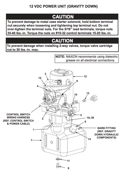 Waltco Wiring Diagram | Machine Repair Manual on