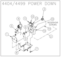 Thieman LRST and M model power unit - 4404