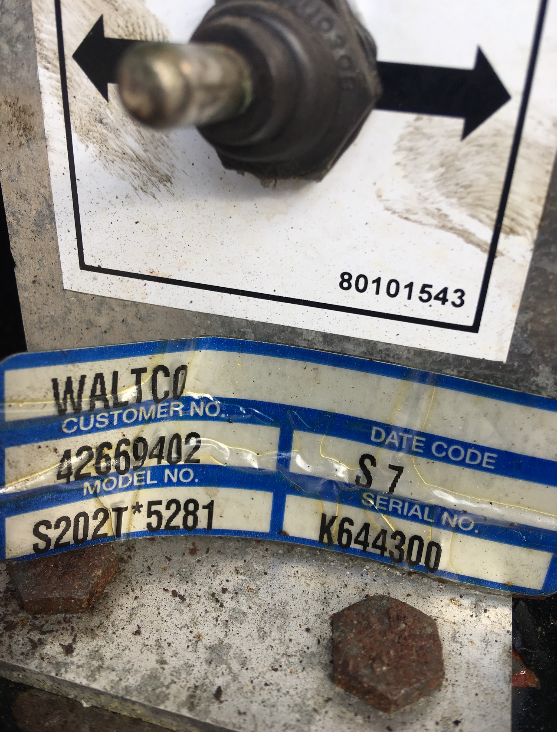 Waltco Power Unit 42669402 - S202T*5281