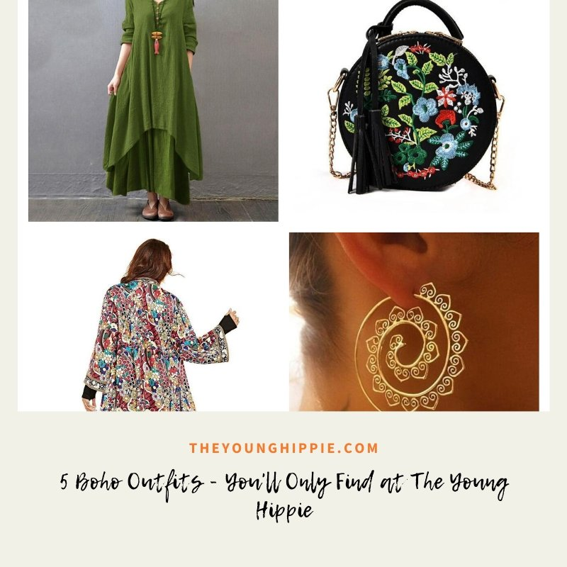 5 Boho Outfits - You'll Only Find at The Young Hippie