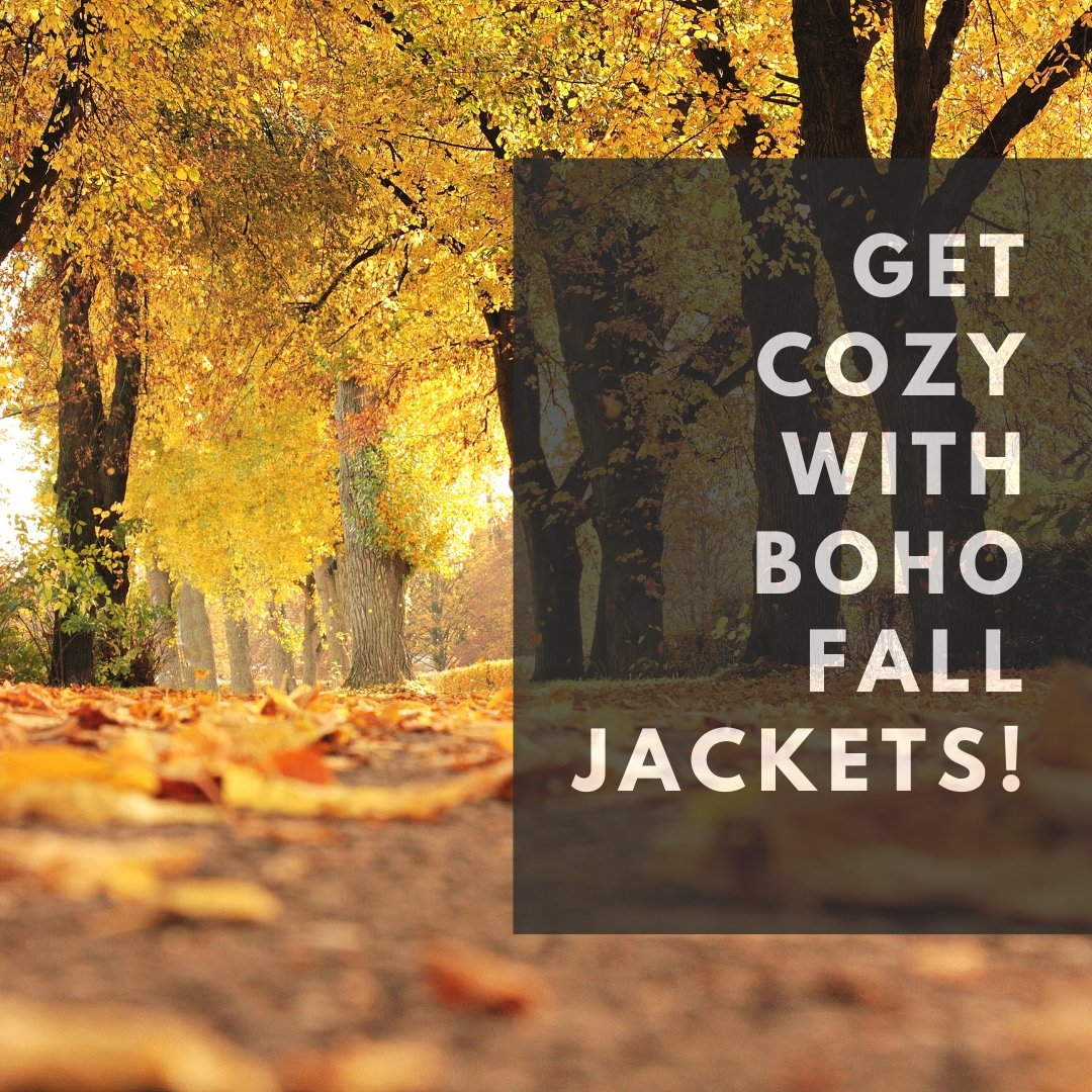 Get Cozy with Boho Fall Jackets