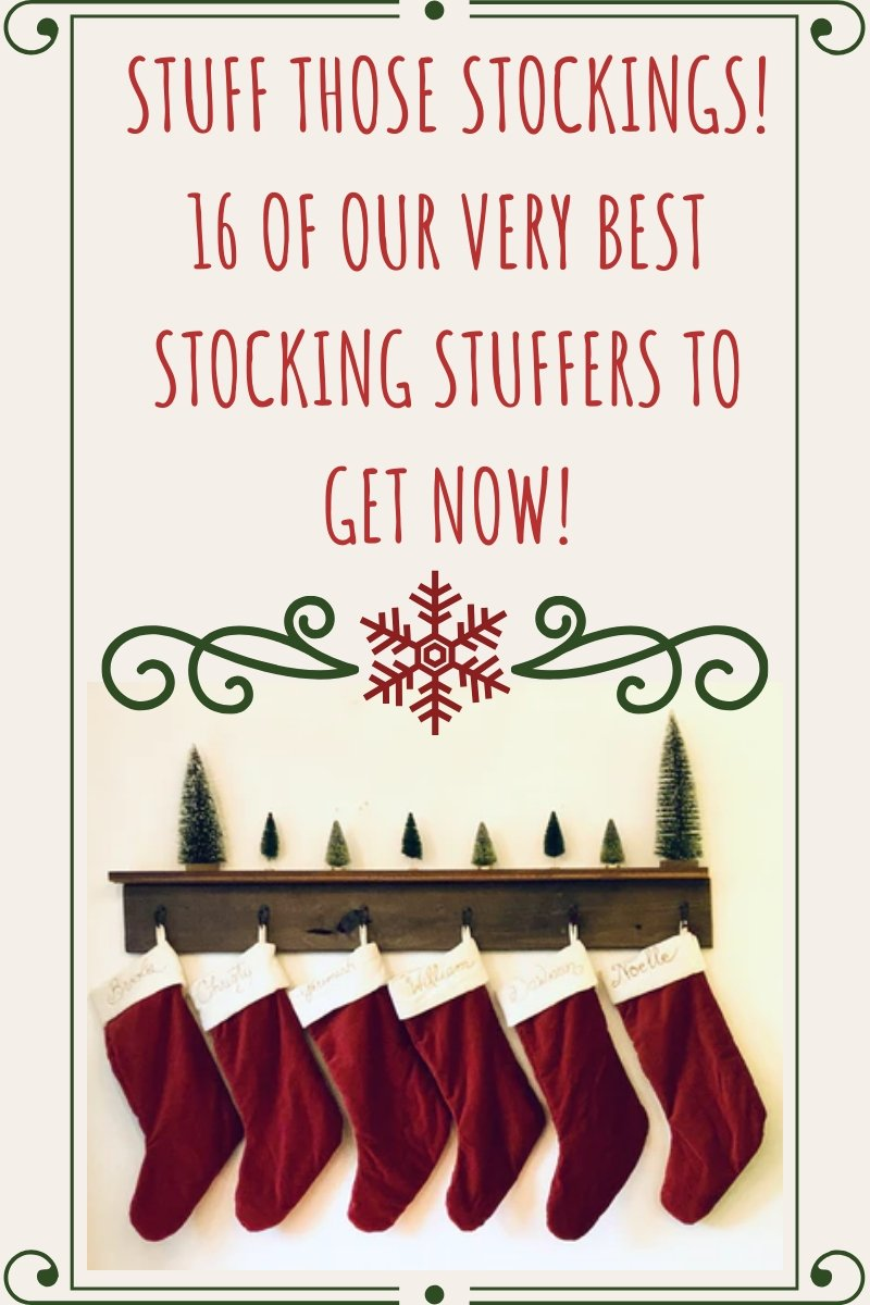 Stuff Those Stockings! 16 of Our Very Best Stocking Stuffers to Get Now!