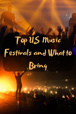 Top US Music Festivals and what to bring