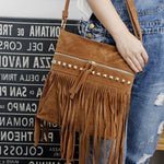 Dakota. Western Inspired Tassel Bag - The Young Hippie