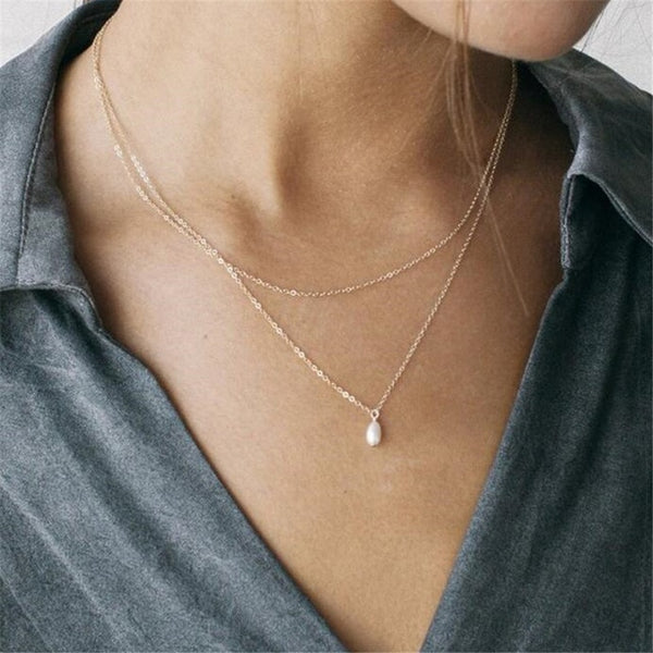 Delicate Hippie Multi-Layer Drop Necklaces | Style Select