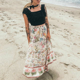 Lana. Long Floral Maxi Skirt | Style Select
